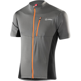 Löffler Rocky Bike Shirt Full-Zip Herren olive